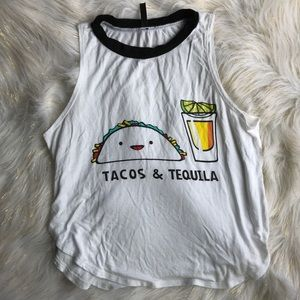 Tops - Tacos and Tequila Tank.